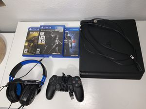playstation slim for Sale in GLMN HOT SPGS, CA