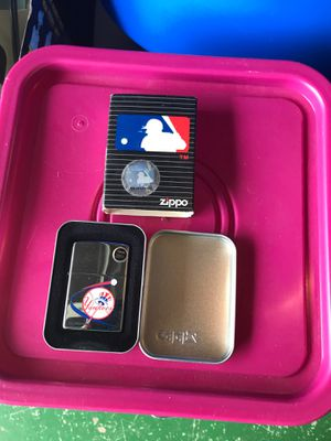 New York Yankees zippo for Sale in Bonita, CA