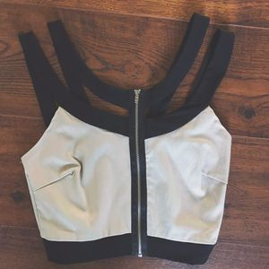 Black & Nude Party Club Crop Top for Sale in Pittsburgh, PA