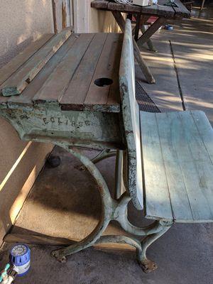 Vintage old school desk for Sale in Fresno, CA