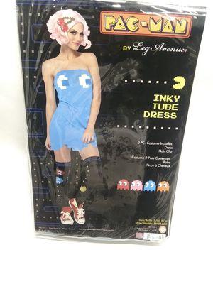 Halloween costume / inky tube dress / pac-man for Sale in Hayward, CA
