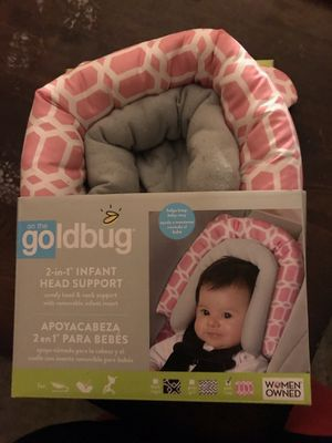 Car seat straps protecter covers and head support bought them separately. for Sale in Quincy, IL