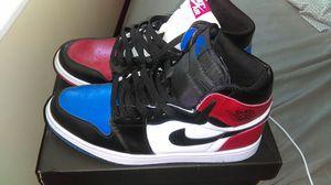 "Mens Air Jordan 1 Retro High OG ""Top 3"" Black - Varsity Red - Varsity for Sale in Pittsburgh, PA"