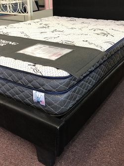 Cool Gel Memory Foam Pillow Top Mattress 🇺🇸 USA Made 🇺🇸 10 Yr Warranty 🇺🇸 Twin 199 Twin XL OR Full 279 Queen 299 King Or Cal King 399 for Sale in Westminster,  CA