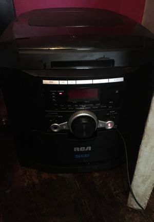 5 disc rca stereo system for Sale in Columbus, OH