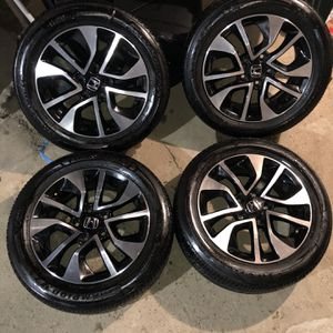 """16"""" Accord/ Civic Like New Rims And Tires for Sale in West Orange, NJ"""