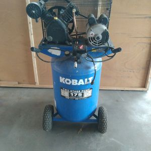 Kobalt Two Stage Pump Air Compressor for Sale in Las Vegas, NV