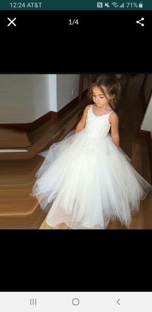 Communion/flower girl dress 3T for Sale in Tampa, FL