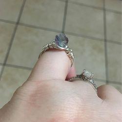 Rainbow Fluorite Ring for Sale in Union Gap,  WA