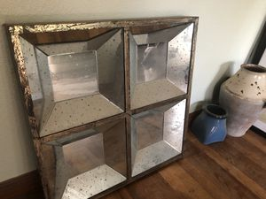 Mirror with antique / vintage finish for Sale in Austin, TX