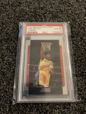 Kobe Bryant rookie cards I have many original graded for Sale in Calabasas, CA