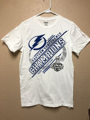 Tampa Bay Lightning Reebok White 2015 Eastern Conference Champions Tee for Sale in Largo, FL