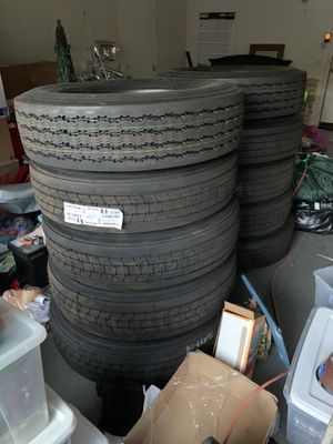 Good year tires 295/75r22.5 for Sale in La Habra, CA