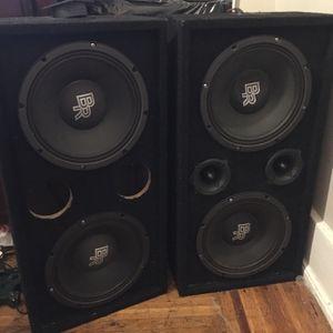 4 Pro 2 Series Bass rockers for Sale in Philadelphia, PA