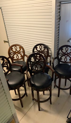 Swivel barstool chairs for Sale in Clodine, TX