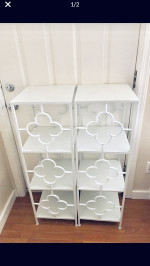White metal shelves new for Sale in Seattle, WA