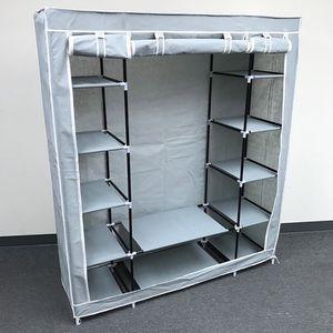 $35 New in box wardrobe closet storage fabric clothing organizer 60x17x68 inches for Sale in Pico Rivera, CA