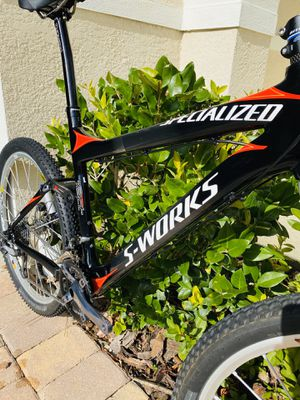 Epic S-Works Carbon full suspension specialized mountain bike Large size 2006 sworks for Sale in Windermere, FL