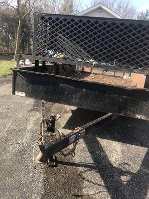 Utility trailer. For sale. 1100. OBO. 7x12' for Sale in Medinah, IL