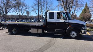 2005 international 4300 DT466 Flatbed Tow Truck for Sale in Sunnyvale, CA