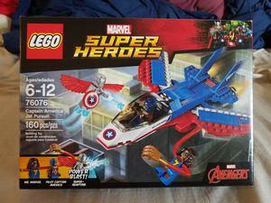 LEGO Super Heroes Captain America Jet Pursuit 76076 Building Kit for Sale in NJ, US