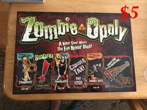 Zombie-opoly for Sale in Midland, TX