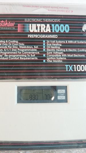 LUX THERMOSTAT ULTRA1000. for Sale in Stockton, CA