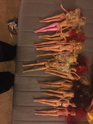 14 Barbie dolls without costumes for Sale in Upper Saint Clair, PA
