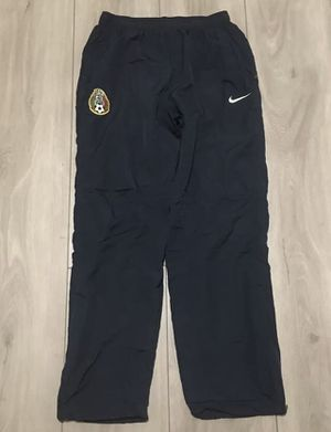 Nike Dri Fit FCB Mexico Warm Up Soccer Pants Blue - Large for Sale in San Leandro, CA