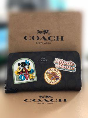 Authentic Disney x Coach Signature Wallet for Sale in Santa Monica, CA
