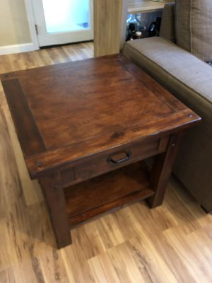 World market end table and console table for Sale in Woodinville, WA