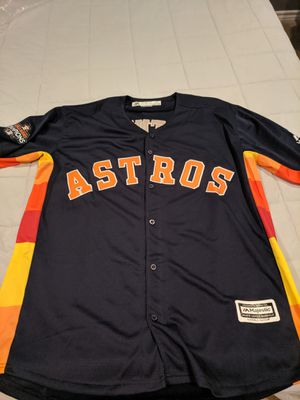 Brand New Astros Altuve jersey with World Series patch!! for Sale in Houston, TX