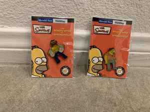 The Simpsons pins ($1 each) for Sale in Santa Ana, CA