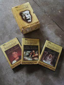 BBC Williams Shakespeare DVD Collection for Sale in Boynton Beach,  FL