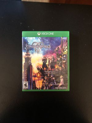 Xbox one x enhance kingdom hearts game for Sale in TEMPLE TERR, FL