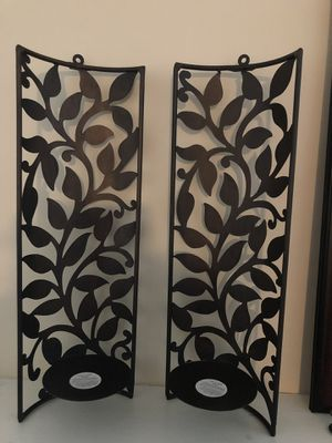 Pier 1 Wall Sconces-$15 for pair for Sale in Woodbridge, VA