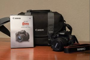 Canon EOS rebel T6i for Sale in Packwood, WA