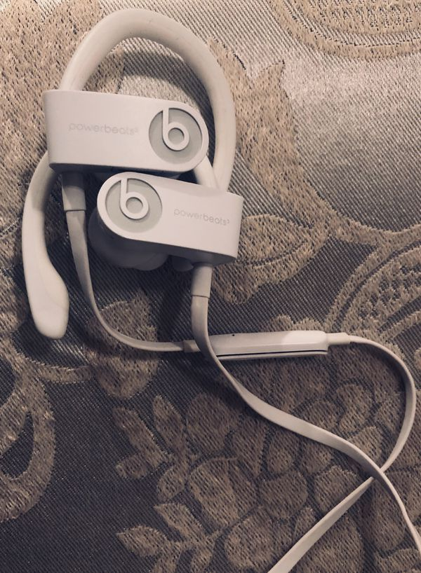 Powerbeats 3 WHITE