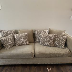 3 Couch.. 150$- 150$ -300$ - Used Good. Very Comfortable. for Sale in Cumming, GA