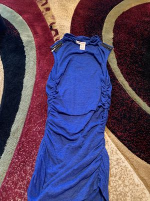 Dkny blue dress shirt xs for Sale in Southampton Township, NJ