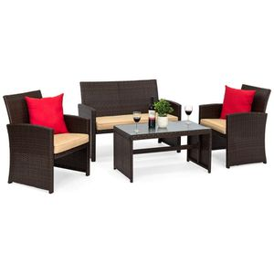 4-Piece Wicker Sofa Furniture Set Outdoor Home Decor for Sale in Phoenix, AZ