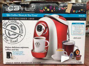 CBTL Single Serve Beverage System Kaldi 504 for Sale in Columbus, OH