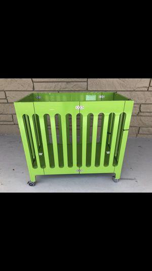 Green BLOOM Alma Mini Crib for Sale in West Palm Beach, FL