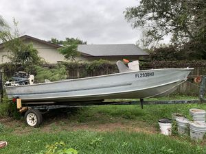 Boat & trailer for Sale in Bartow, FL