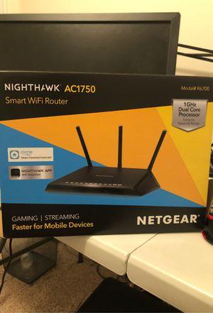 Nighthawk Smart WIFI Router AC1750 for Sale in Riverview, FL
