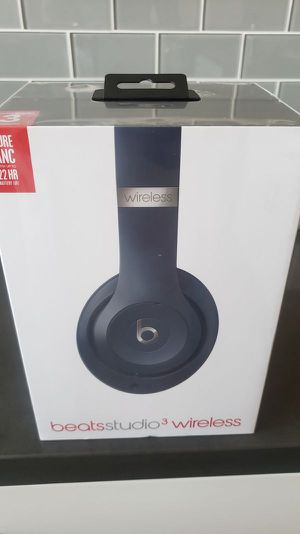 Beats studio 3 wireless headphones NEW IN BOX for Sale in Ontario, CA