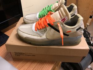 Nike off white air mac 90 for Sale in Fort Worth, TX