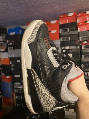 Air jordan black cement 3 size 9 for Sale in Garfield Heights, OH