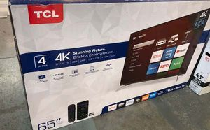 "TCL roku tv 65"" NZT for Sale in Lakewood, CA"