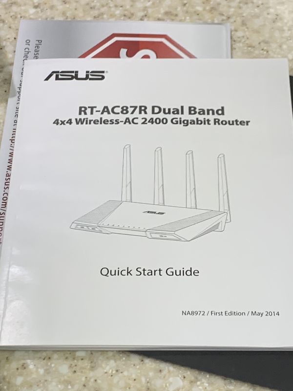 ASUS ROUTER. MODEL # AC2400